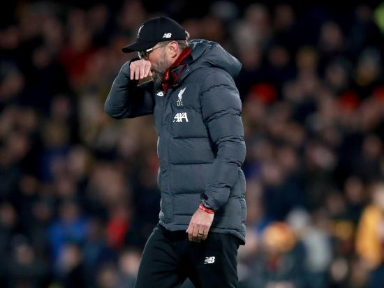 Klopp congratulates Watford after Liverpool's first league loss of the season