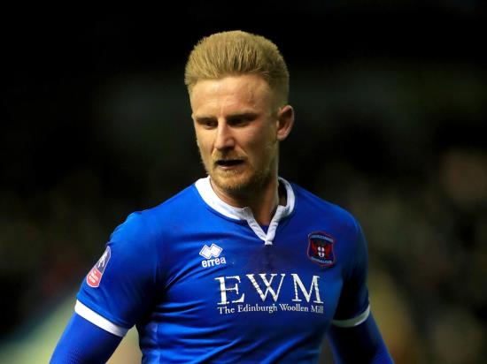 Carlisle without Webster for Colchester clash