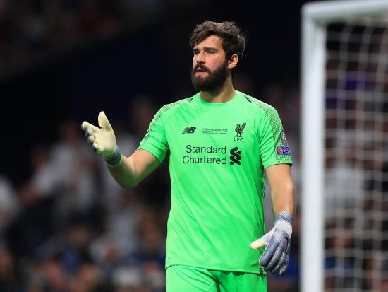 Liverpool vs Bournemouth - Alisson misses Liverpool's game with hip injury