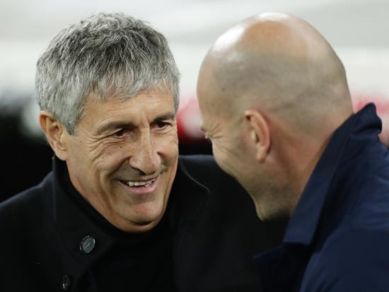 Barcelona vs Real Sociedad - Setien adamant he retains support of dressing room