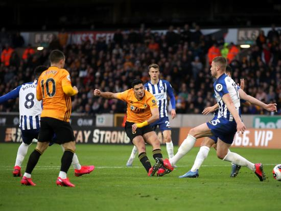 Graham Potter says Brighton deserved their point at Wolves