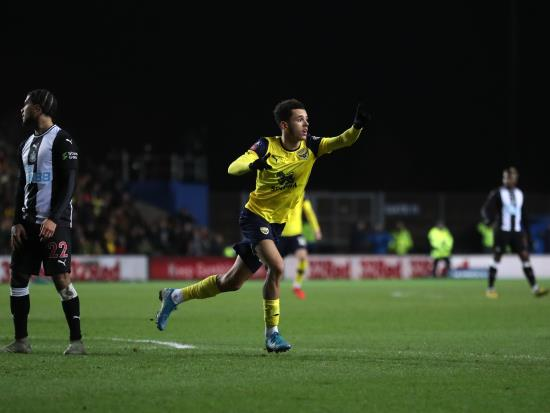 Nathan Holland blow for Oxford