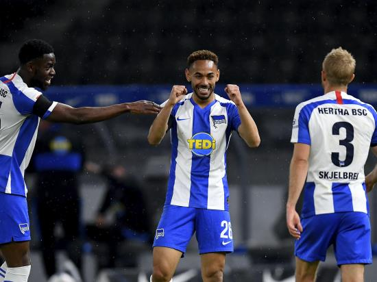 Hertha coast to Berlin derby victory