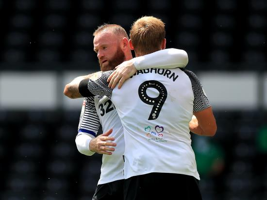Wayne Rooney on target as Derby win again