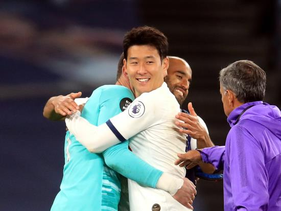Hugo Lloris plays down clash with Son Heung-min