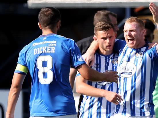 Chris Burke keeps his cool from spot as Kilmarnock hold below-par Celtic to draw