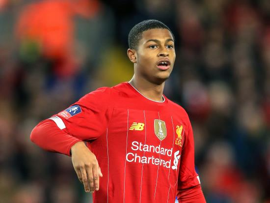 Rhian Brewster at the double but Virgil Van Dijk injury a concern for Liverpool