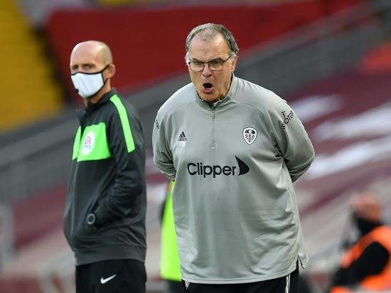Leeds boss Marcelo Bielsa takes cold comfort from battling defeat