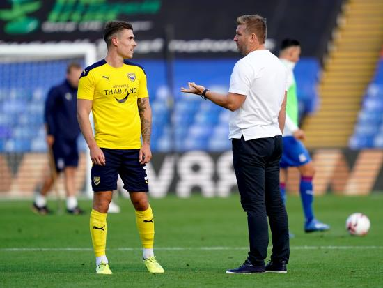 Josh Ruffels absent for Oxford's tie with Watford