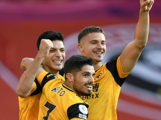 Wolves start Premier League campaign with a win at Sheffield United