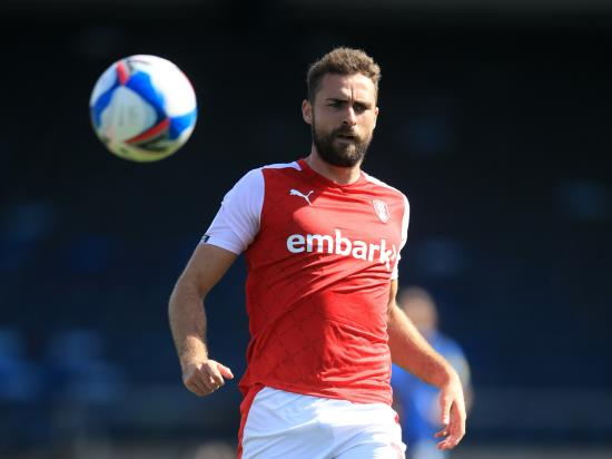 Clark Robertson sidelined as Rotherham host Millwall