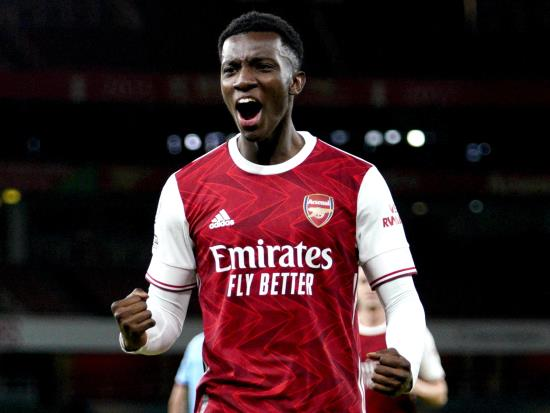 Arsenal 2 - 1 West Ham United: Eddie Nketiah snatches victory for Arsenal against improved West Ham