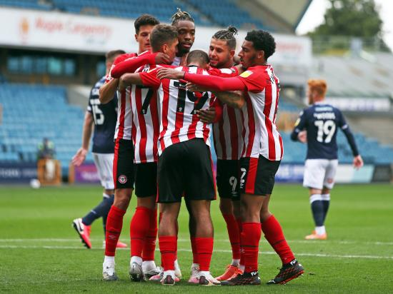 Ivan Toney penalty rescues a point for Brentford at Millwall