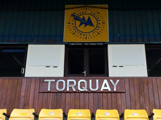 Connor Lemonheigh-Evans snatches dramatic victory for Torquay