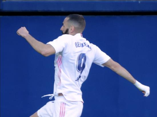 Real Madrid clinch third straight LaLiga win as Levante suffer third loss