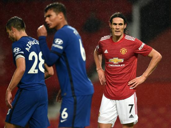 Manchester United 0 - 0 Chelsea: Debutant Edinson Cavani comes close but United and Chelsea draw a blank