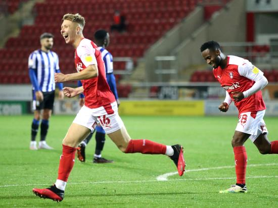 Jamie Lindsay bags brace as Rotherham ease past 10-man Sheffield Wednesday