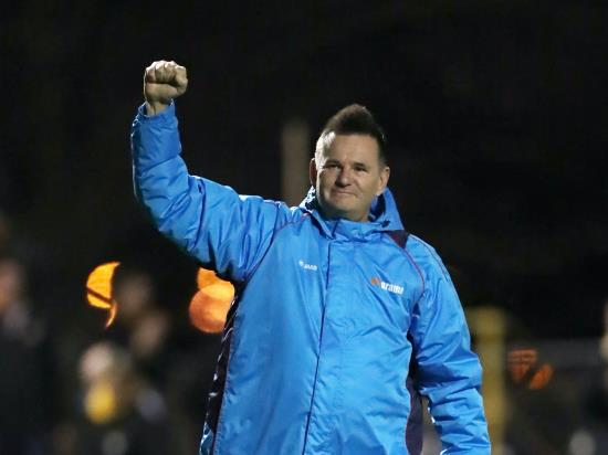 Paul Doswell believes Havant were fortunate to advance in FA Cup