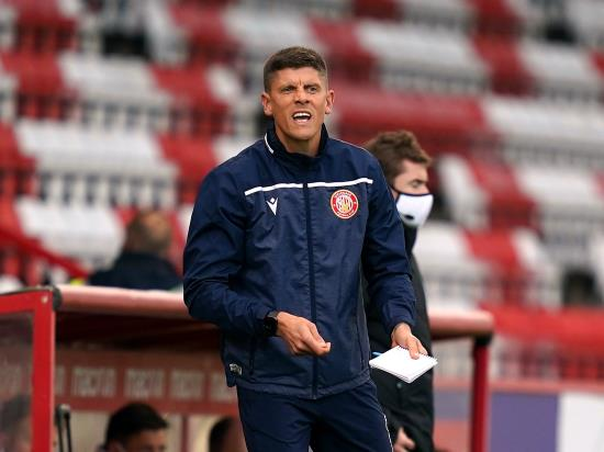 Alex Revell has no fresh injury worries ahead of Southend clash