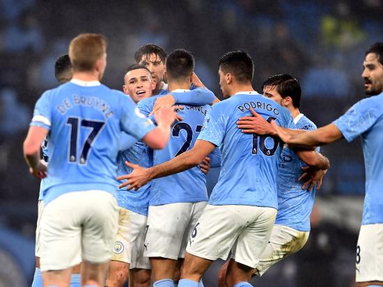 Manchester City 1 - 0 Brighton & Hove Albion: Phil Foden strikes as Manchester City edge past battling Brighton