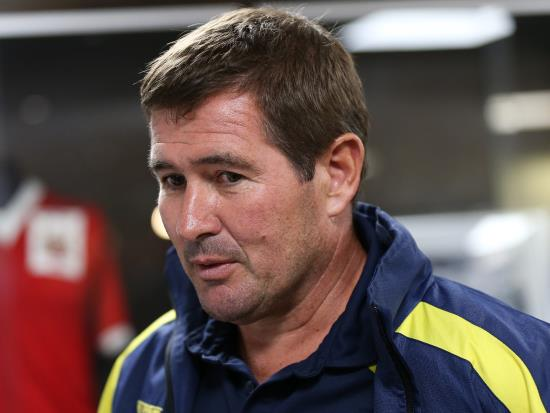 Nigel Clough salutes players' outstanding performance as Mansfield win at Oldham