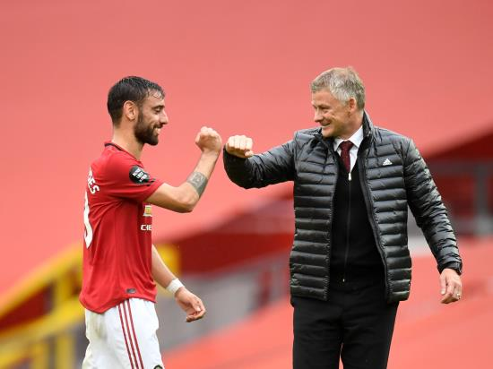 Ole Gunnar Solskjaer reveals how practice makes perfect for Bruno Fernandes