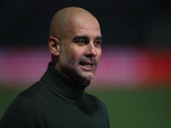 Pep Guardiola staying calm despite Manchester City's winning run