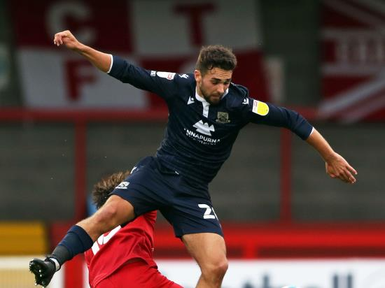 Adam Phillips and Cole Stockton give Morecambe win at Exeter