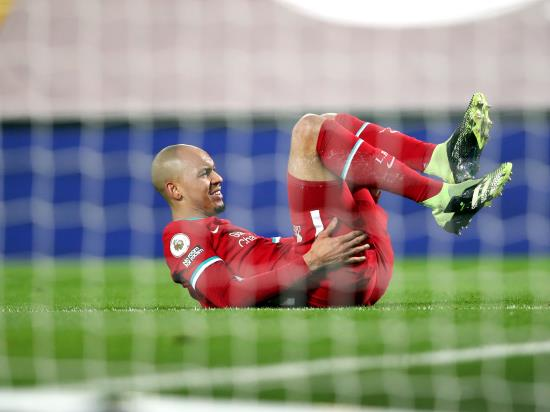 Fabinho sidelined as Ozan Kabak looks to start for Liverpool in Merseyside derby