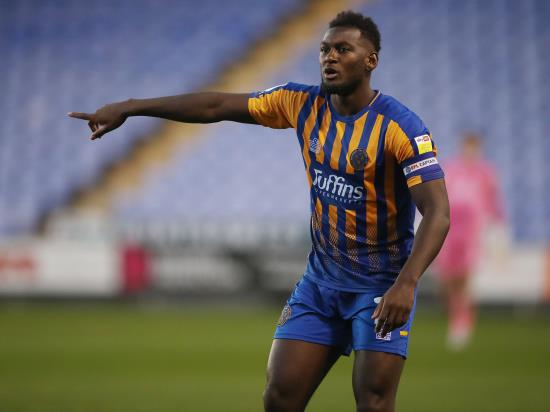 Shrewsbury defenders Aaron Pierre and Matthew Pennington sidelined for MK Dons