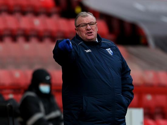 Steve Evans admits Gillingham's top-six hopes are over after AFC Wimbledon loss