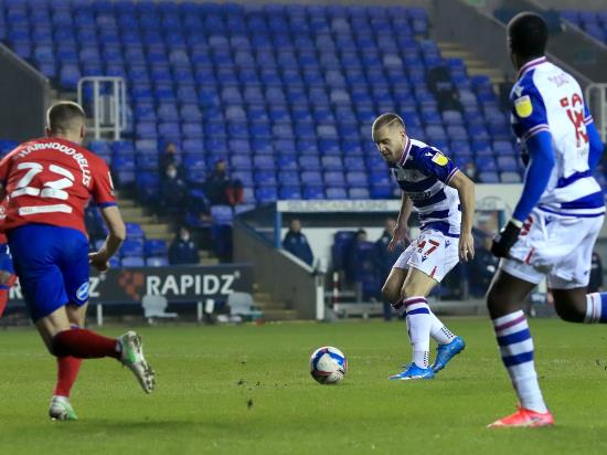 Reading boost play-off prospects with a narrow home victory against Blackburn