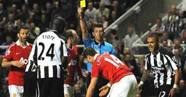 Did the ref get it right at St James'?