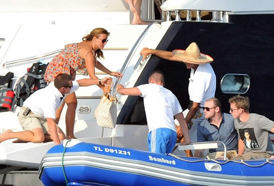 Wayne Rooney Yacht luxury Coleen and Wayne enjoy more time off aboard a yacht in France