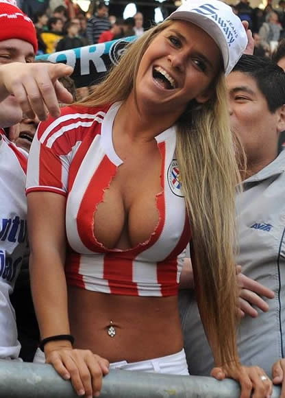 hot girl soccer fans naked