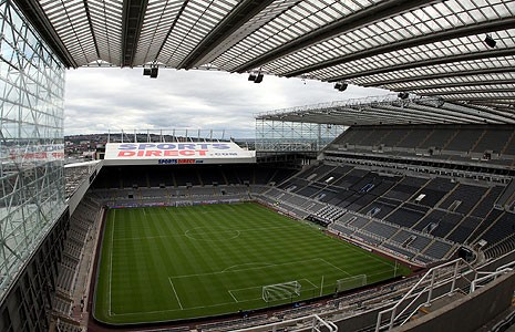 Nike closing in on St James' Park deal