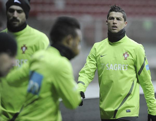 Portugal prepared for friendly against Poland