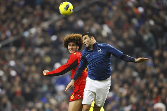 Warm-up - France 0 : 0 Belgium