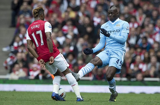 Balotelli faces NINE-game ban after reckless Song tackle
