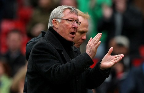 Young told to watch his step by United boss Ferguson after 'dramatic fall' in win over Villa