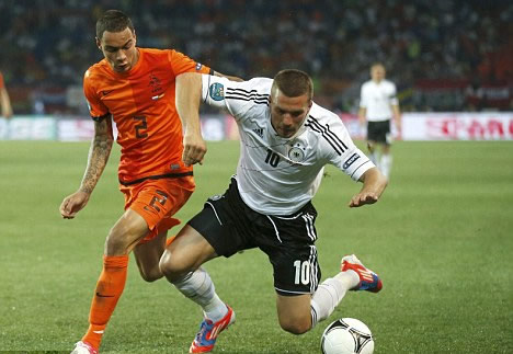 Both young and experienced, Podolski will be an ace for ...