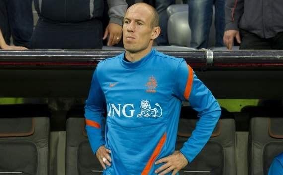 Robben blames 'big egos' for Netherlands' poor results at Euro 2012