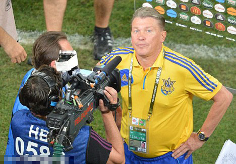 Bonkers Blokhin loses rag with journalist, asking him outside for a 'man talk' after Ukraine defeat