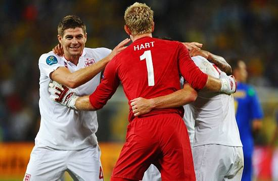 Nobody believed in us but now we're hitting top gear, roars Gerrard after Ukraine victory
