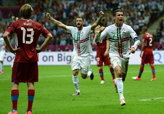 Czech Republic 0 Portugal 1: World-class Ronaldo roars into semis after nodding devastating decider