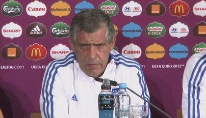 Playing Germany is extra motivation for Greece because of political tension, admits Santos