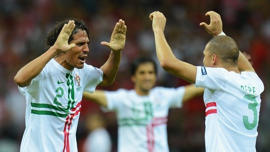 Nani and Moutinho train sights on trophy