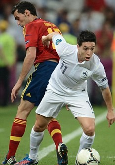 Furious Nasri swears at journalist following France's Euro 2012 exit
