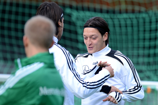 Germany trained for Euro 2012 semi-final