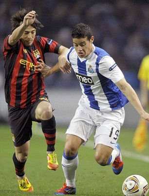 Man United step up Rodriguez hunt after Porto reject £30m bid